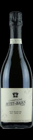 Champagne Petit et Bajan Nuit Blanche Grand Cru