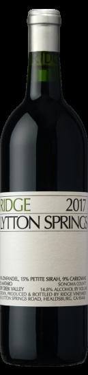 Ridge  Lytton Springs 2017