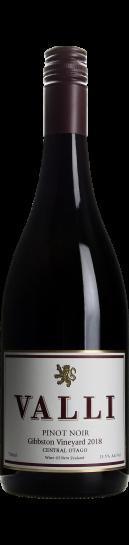 Valli Gibbston Vineyard Pinot Noir 2018