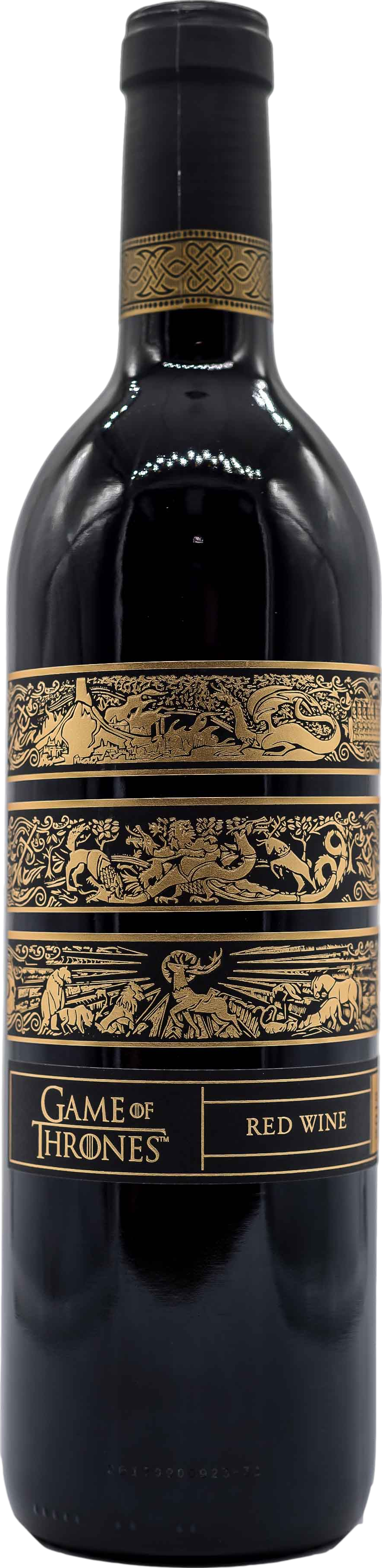Game Of Thrones Red Wine Paso Robles 2016