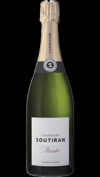 Bottle of Champagne Soutiran Cuvee Alexandre Brut Premier Cru wine 750 ml