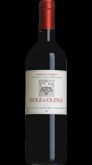 Bottle of Isole e Olena Chianti Classico 2014 wine 750 ml
