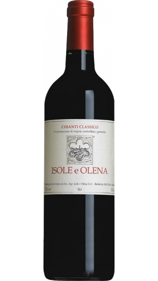 Bottle of Isole e Olena Chianti Classico 2015 wine 750 ml