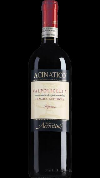Bottle of Stefano Accordini Valpolicella Ripasso Acinatico Classico 2018 wine 750 ml