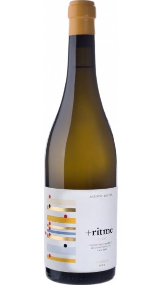 Bottle of Acustic Celler Ritme Blanc 2017 wine 750 ml