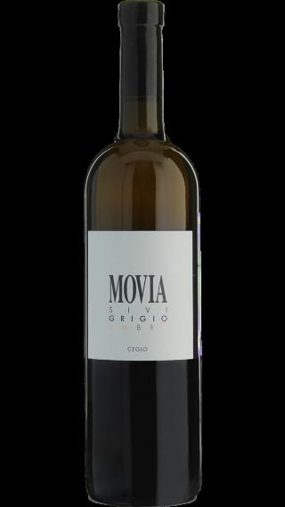 Bottle of Movia Sivi Grigio Ambra 2017 wine 750 ml