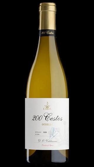 Bottle of A Coroa 200 Cestos Godello 2018 wine 750 ml