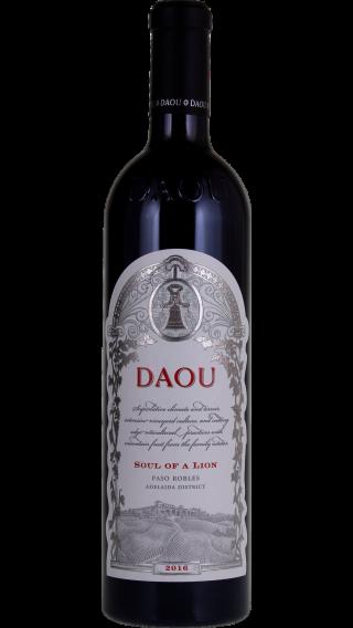 Bottle of DAOU Soul of a Lion 2017 wine 750 ml