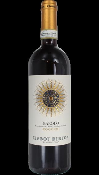 Bottle of Ciabot Berton Barolo Roggeri 2012  wine 750 ml