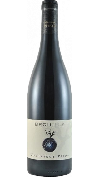 Bottle of Dominique Piron Brouilly 2017 wine 750 ml