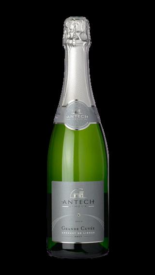 Bottle of Antech Grande Cuvee Cremant de Limoux Brut 2018 wine 750 ml