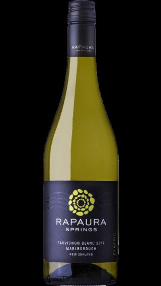 Bottle of Rapaura Springs Sauvignon Blanc 2019 wine 750 ml