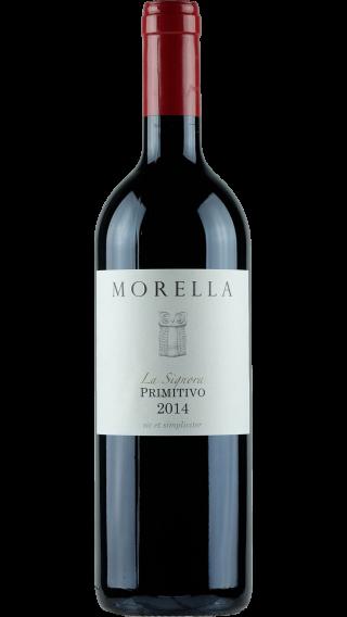 Bottle of Morella La Signora Primitivo 2015 wine 750 ml