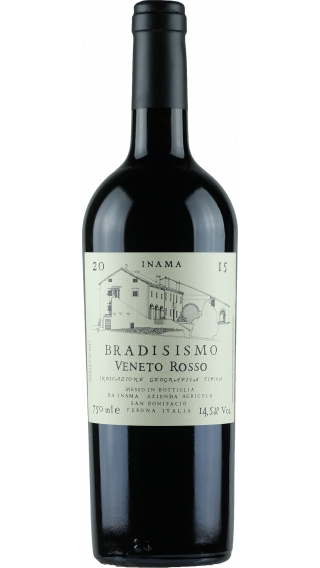 Bottle of Inama Bradisismo 2015 wine 750 ml