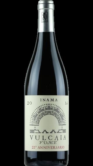 Bottle of Inama Vulcaia Fume Sauvignon 2016 wine 750 ml