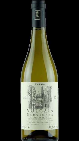 Bottle of Inama Vulcaia Sauvignon 2017 wine 750 ml