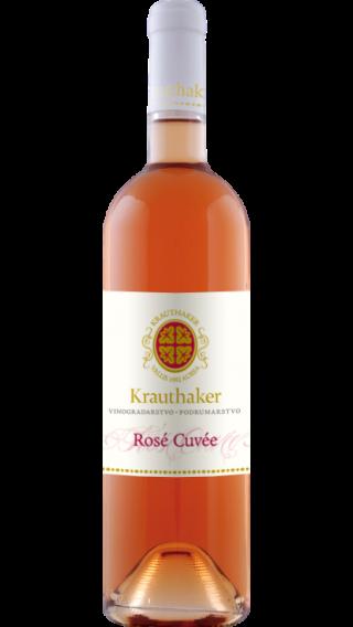 Bottle of Krauthaker Rose Cuvee 2017 wine 750 ml