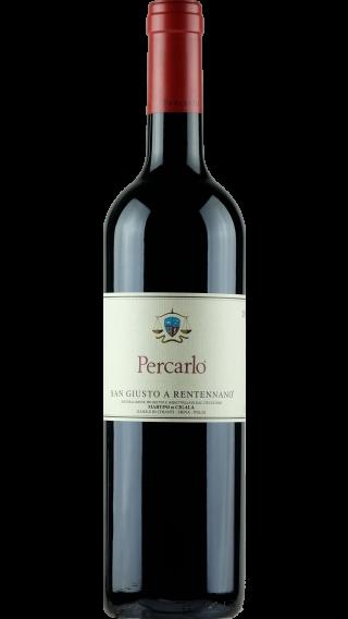 Bottle of San Giusto a Rentennano Percarlo 2014 wine 750 ml