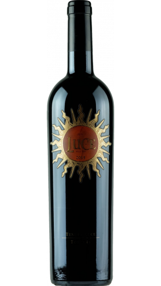 Bottle of Luce della Vitte 2015 wine 750 ml