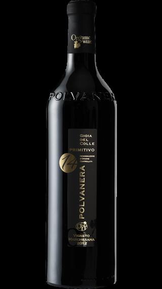 Bottle of Polvanera 14 Primitivo 2017 wine 750 ml