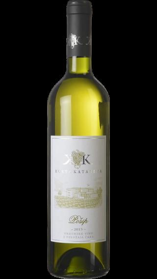 Bottle of Korta Katarina Posip 2016 wine 750 ml