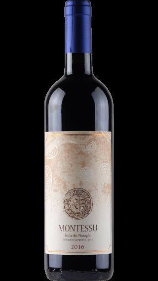 Bottle of Agricola Punica Montessu 2017 wine 750 ml