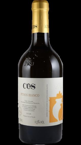 Bottle of COS Pithos Bianco 2017 wine 750 ml