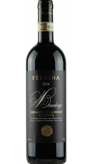 Bottle of Felsina Chianti Classico Reserva 2017 wine 750 ml