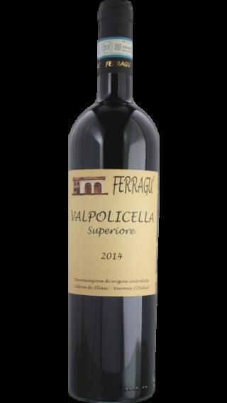 Bottle of Ferragu Valpolicella Superiore 2014 wine 750 ml