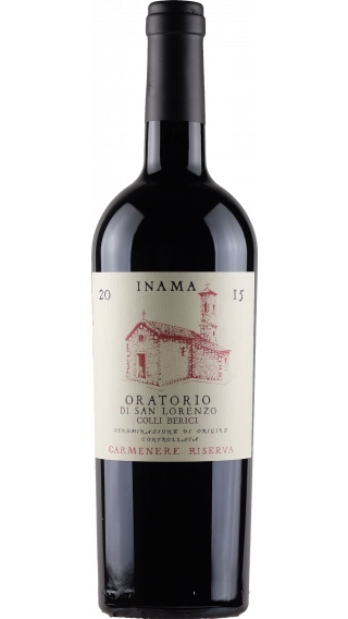 Bottle of Inama Oratorio San Lorenzo 2015  wine 750 ml