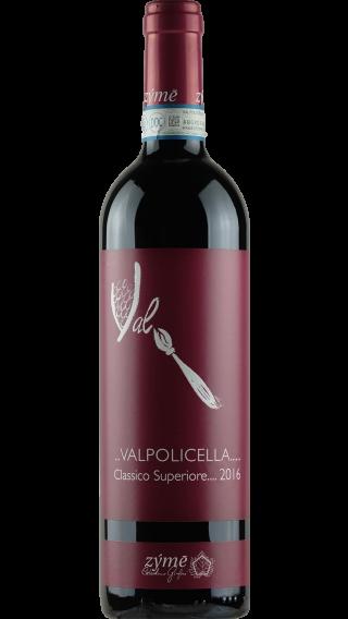 Bottle of Zyme Valpolicella Superiore 2016 wine 750 ml