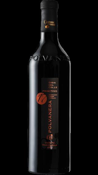Bottle of Polvanera 17 Primitivo 2014 wine 750 ml