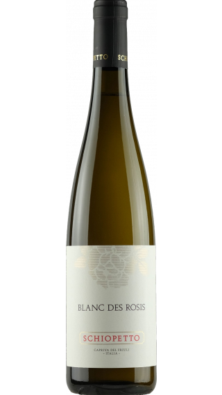 Bottle of Schiopetto Blanc des Rosis 2017 wine 750 ml