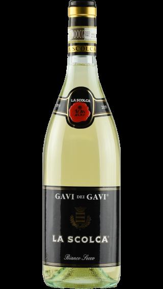 Bottle of La Scolca Gavi dei Gavi 2019 wine 750 ml