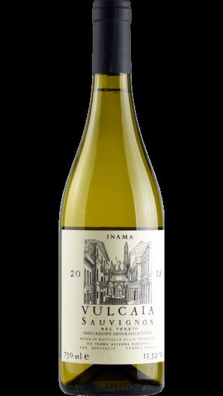 Bottle of Inama Vulcaia Sauvignon 2019 wine 750 ml