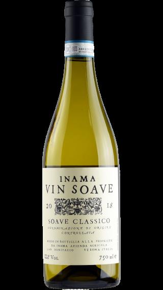 Bottle of Inama Vin Soave Classico 2019 wine 750 ml