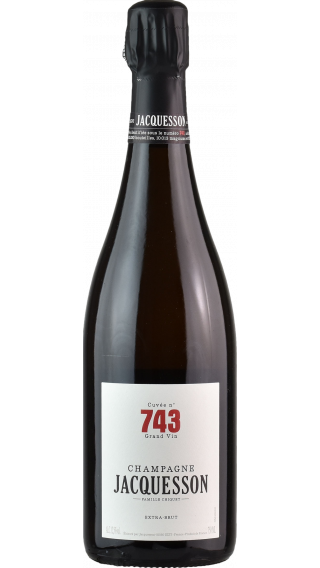 Bottle of Champagne Jacquesson  Cuvee 743 wine 750 ml