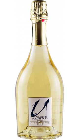 Bottle of Tenuta Ulisse Pecorino Brut wine 750 ml