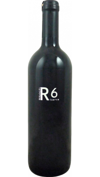 Bottle of Bibich R6 Riserva 2016 wine 750 ml