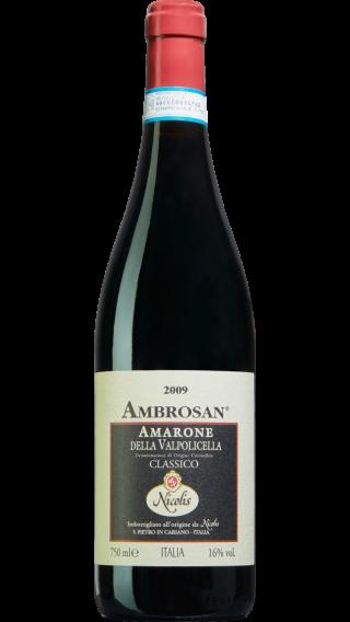 Bottle of Nicolis Ambrosan Amarone della Valpolicella 2009 wine 750 ml
