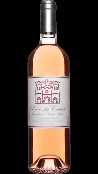 Bottle of Domaine du Castel Rose 2019 wine 750 ml