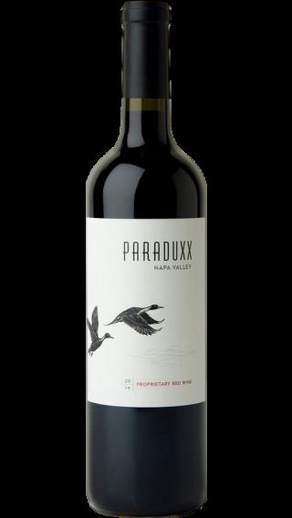 Bottle of Duckhorn Paraduxx 2015 wine 750 ml