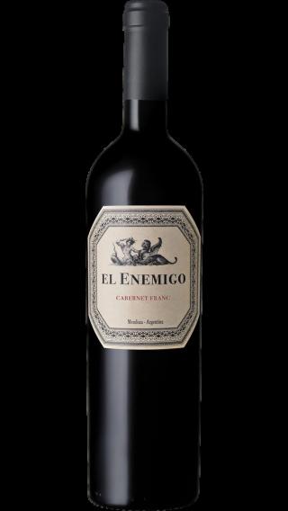 Bottle of El Enemigo Cabernet Franc 2016 wine 750 ml