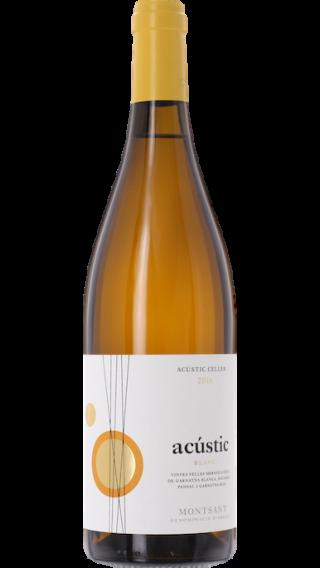 Bottle of Acustic Celler Acustic Blanc 2016 wine 750 ml