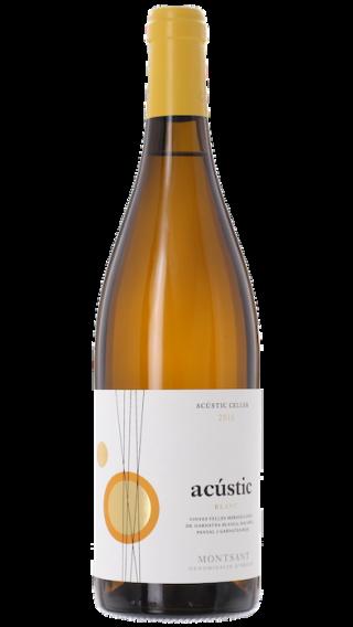 Bottle of Acustic Celler Acustic Blanc 2017 wine 750 ml