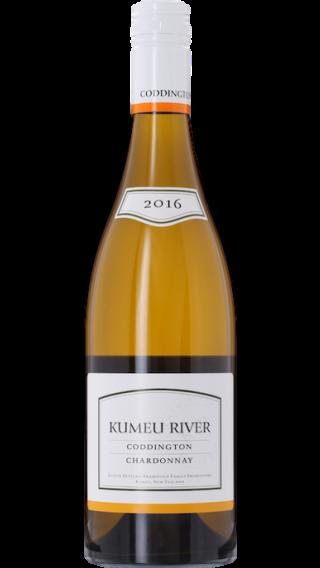 Bottle of Kumeu River Coddington Chardonnay 2016 wine 750 ml