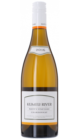 Bottle of Kumeu River Mate's Vineyard Chardonnay 2016 wine 750 ml