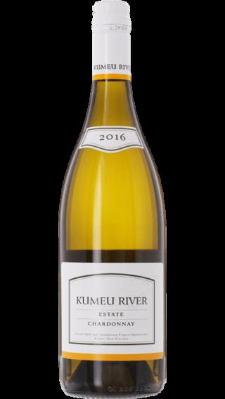 Bottle of Kumeu River Estate Chardonnay 2016 wine 750 ml