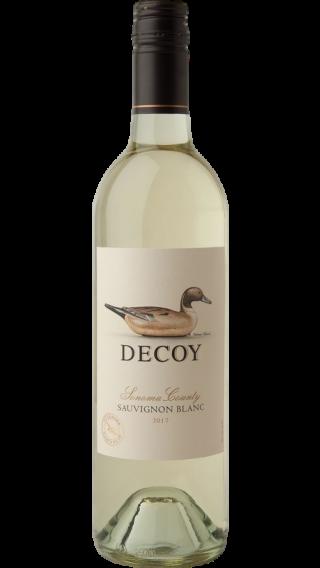 Bottle of Duckhorn Decoy Sauvignon Blanc 2017 wine 750 ml