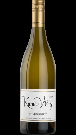 Bottle of Kumeu River Village Chardonnay 2018 wine 750 ml
